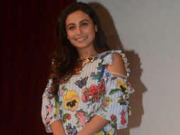 "Rani Mukerji: ""Aamir Khan Said That He Is In LOVE With Naina &…."" | Hichki"