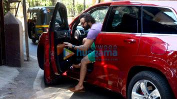 Saif Ali Khan spotted at dubbing studio in Bandra