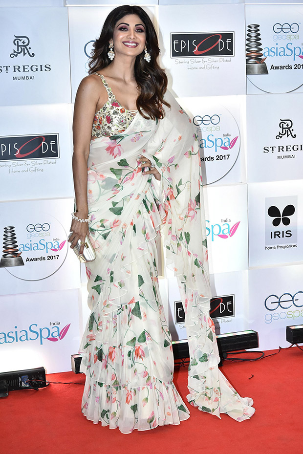 Shilpa Shetty The Official Saree Slayer Is Back This Time With