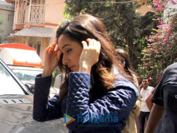 Shraddha Kapoor spotted at Pali Villege Cafe in Bandra