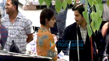 On The Sets Of The Movie Sui Dhaaga - Made In India