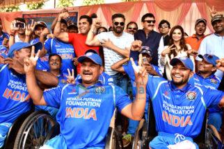 Suniel Shetty inaugurates the India-Bangladesh Wheelchair Cricket Series