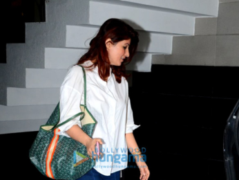Twinkle Khanna spotted after clinic session in Bandra