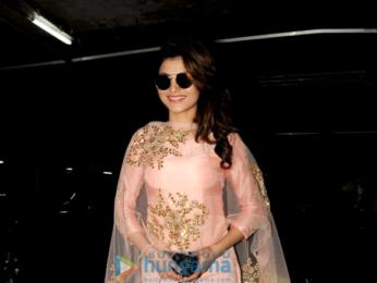 Urvashi Rautela snapped returning from Delhi