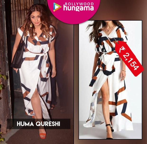 Weekly Celebrity Splurges - Huma Qureshi