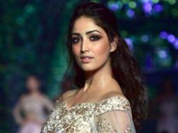Yami Gautam Was Show-Stopper At Nishit BOMBAY TIMES FASHION WEEK