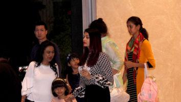 Aishwarya Rai Bachchan spotted at Yauatcha in BKC