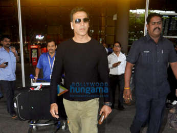 Akshay Kumar, Sonam Kapoor Ahuja, Shabana Azmi, Urvashi Rautela and others snapped at Mumbai airport