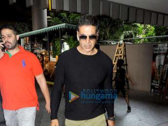Akshay Kumar, Sonam Kapoor Ahuja, Shabana Azmi, Urvashi Rautela and others snapped at Mumbai airport
