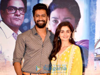 Alia Bhatt, Meghna Gulzar and others attend Raazi success press meet