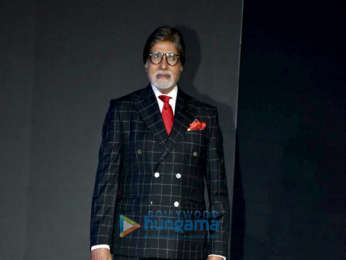 Amitabh Bachchan and Aditi Rao Hydari snapped at the launch of One Plus 6