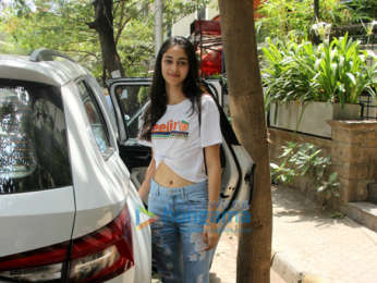 Ananya Pandey snapped at The Kitchen Garden