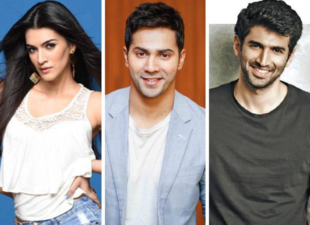 DILWALE REUNION! Kriti Sanon and Varun Dhawan to shake a leg in KALANK, joining them is Aditya Roy Kapur