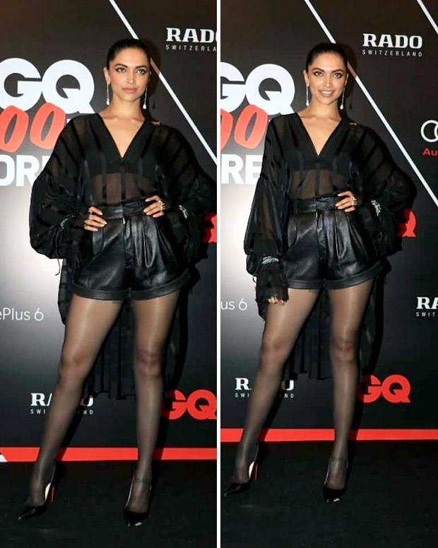 Deepika Padukone IN YSL ensemble at GQ Best Dressed 2018
