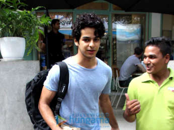 Ishaan Khatter snapped at Kitchen Garden