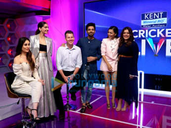 Kareena Kapoor Khan, Sonam Kapoor Ahuja, Swara Bhaskar, Shikha Talsania snapped promoting Veere Di Wedding on Kent Cricket Live at Star Sports Studio
