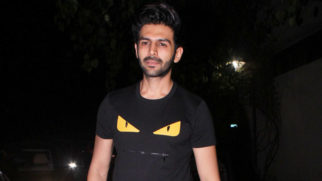 Kartik Aaryan & Taapsee Pannu @Special Screening of Big B's '102 Not zOut' at YRF Studios