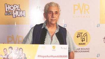 Naseeruddin Shah & Sonali Kulkarni @ Special Screening of their Upcoming Film 'Hope Aur Hum'