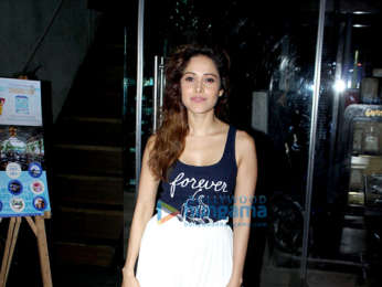 Nushrat Bharucha spotted at Silver Beach Cafe in Juhu