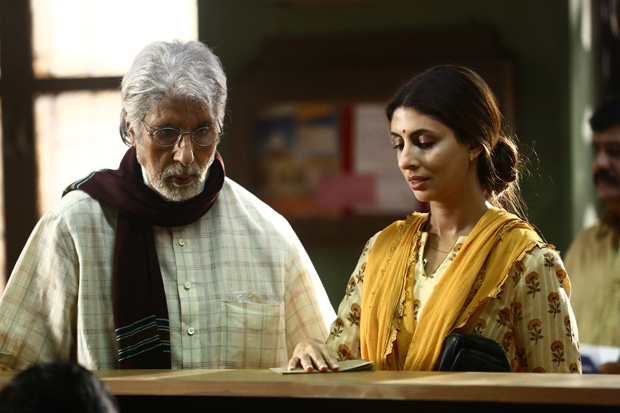 PHOTOS: Shweta Bachchan Nanda makes acting debut with father Amitabh Bachchan