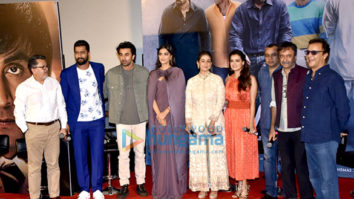 Ranbir Kapoor, Sonam Kapoor, Rajkumar Hirani, Vidhu Vinod Chopra snapped at the trailer launch of Sanju