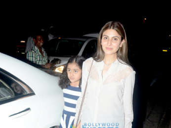 Rishi Kapoor snapped with family at Hakkasan in Bandra