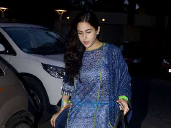 Sara Ali Khan snapped post her yoga session in Bandra