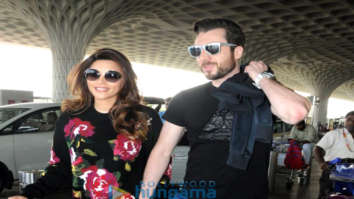 Shama Sikandar snapped at the airport
