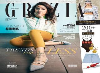 Sonakshi Sinha as cover girl for Grazia