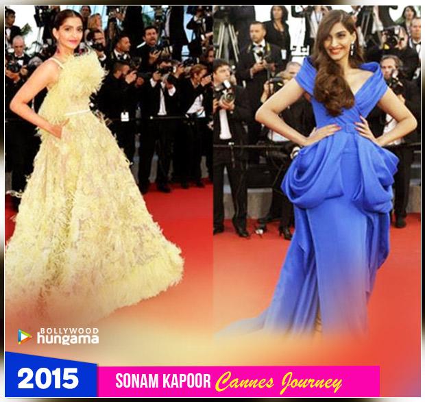 Sonam Kapoor Ahuja - Cannes 2015