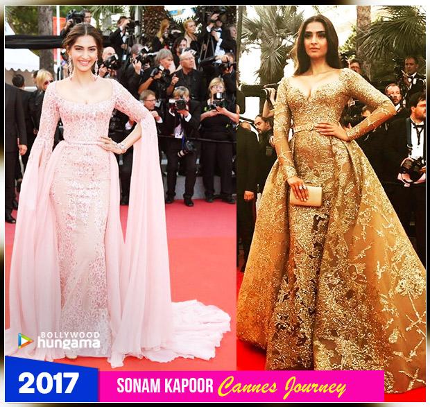 Sonam Kapoor Ahuja - Cannes 2017