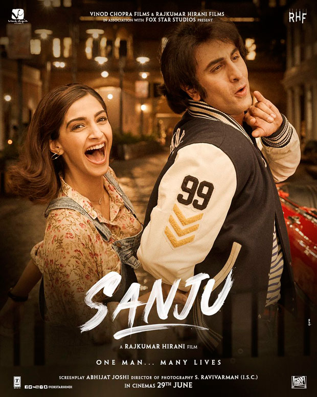 Sanju new poster: Sonam Kapoor gives us serious Neerja feels as she brings back the 80s as Ranbir Kapoor's girlfriend