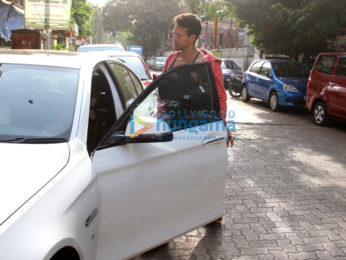 Tiger Shroff snapped in Mumbai