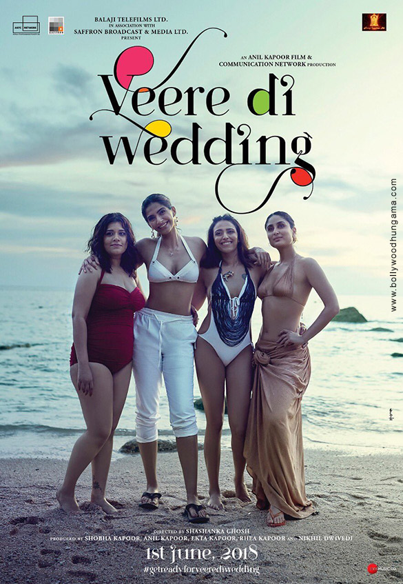 2018 - VEERE DI WEDDING (2018) con SONAM KAPOOR + Jukebox + Online Español Veere-Di-Wedding-6