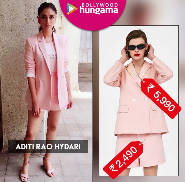 Weekly Celebrity Splurges - Aditi Rao Hydari in Zara