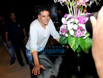 Akshay Kumar snapped at Svarn Saathi launch at Novotel Hotel in Juhu