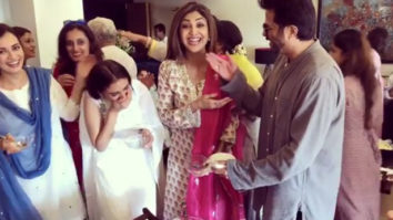 WATCH: Anil Kapoor pokes fun at Shilpa Shetty while she tries to binge eat during Eid party