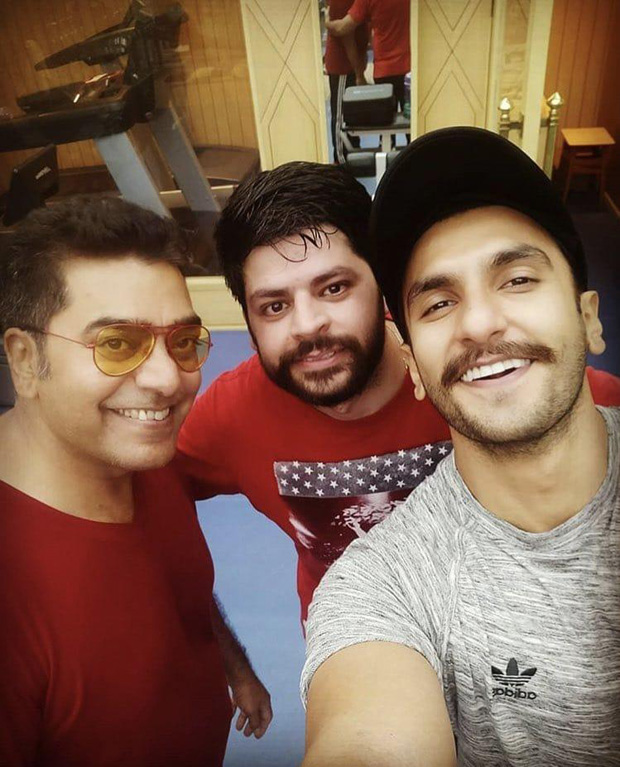 Ashutosh Rana joins Ranveer Singh on sets of Rohit Shetty's Simmba