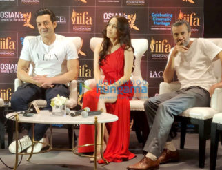 Bobby Deol and Urvashi Rautela snapped at Osian's cinematic heritage celebrations at IIFA 2018
