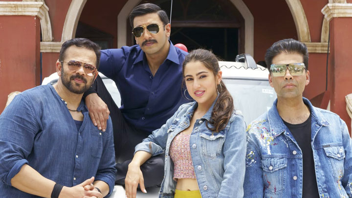 Check out this sneak peek of Ranveer Singh & Sara Ali Khan in Rohit Shetty's Simmba