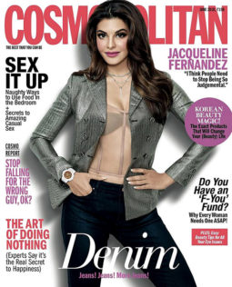 Jacqueline Fernandez On The Cover Of Cosmopolitan