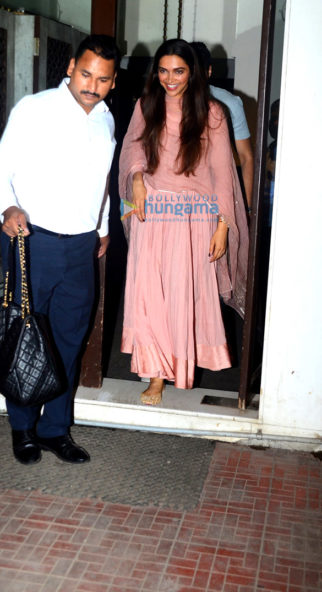 Deepika Padukone and her mother snapped post dinner at Bastian