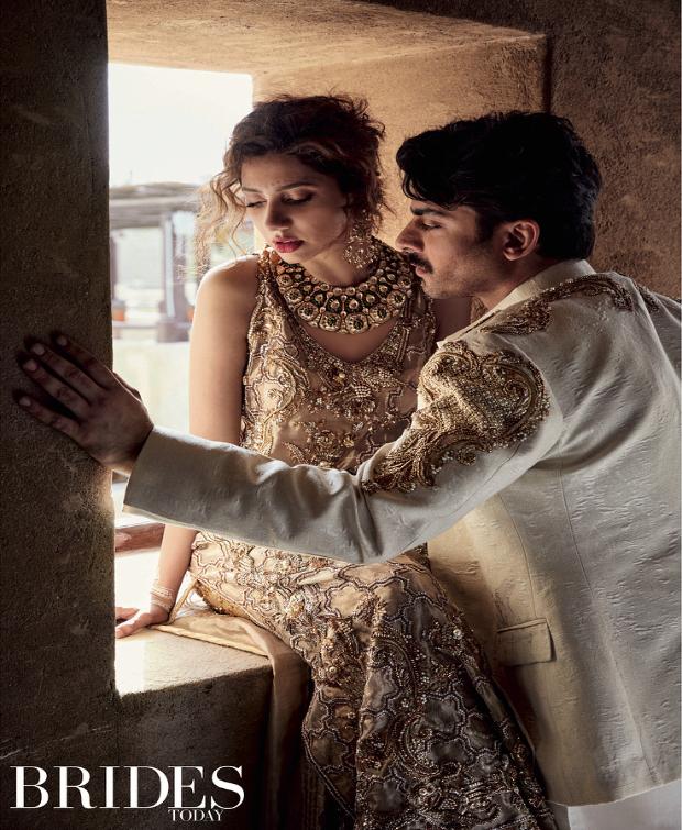 Fawad Khan and Mahira Khan for Brides Today
