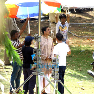 On The Sets Of The Movie Gold
