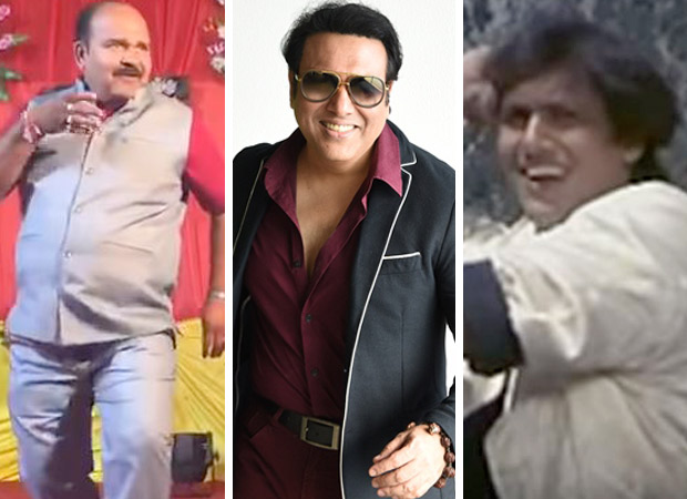 Govinda IMPRESSED with the recreation of his song 'Aap Ke Aa Jane Se' by Dancing Uncle