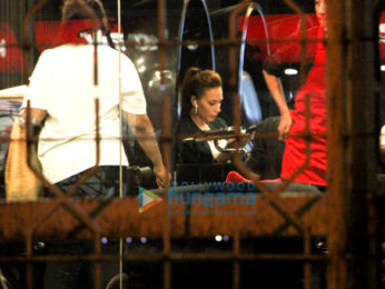 Iulia Vantur spotted at Tip & Toe in Juhu