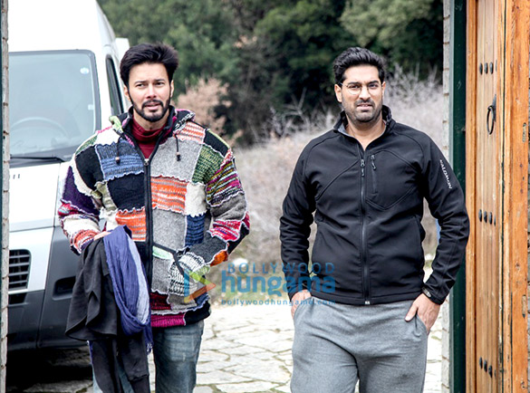 On The Sets Of The Movie Mushkil