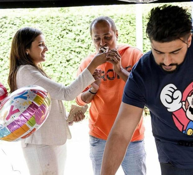 Namaste England: Parineeti Chopra and Arjun Kapoor wrap up London schedule with Vipul Shah's birthday celebration