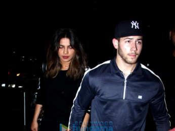 Priyanka Chopra, Nick Jonas and others snapped at the airport