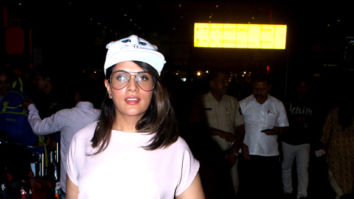 Richa Chadda and Radhika Apte snapped at the airport